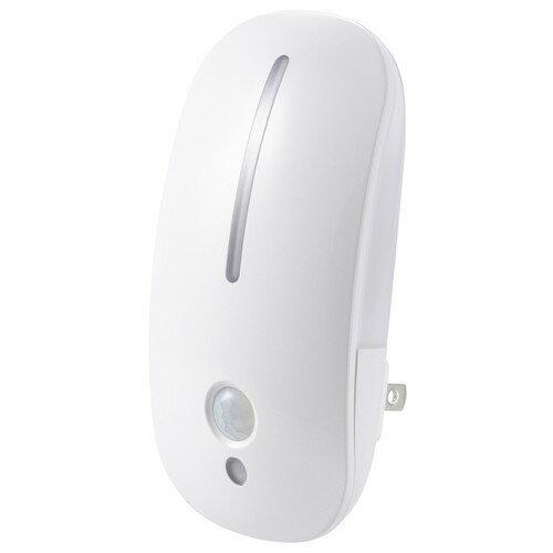 あす楽  新品 オーム電機 OHM LEDナイトライト フットライト 明暗・人感センサー 電球色 NIT-AE3LA