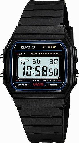 CASIO f91w watch Casio LED F-91W-1JF