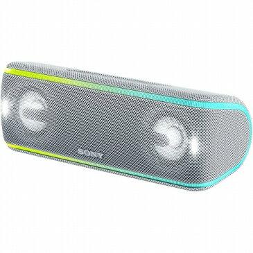 ソニー SONY ワイヤレス ポータブルスピーカー SRS-XB41 W ホワイト 防水・防塵・防錆 Bluetooth