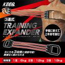 マクロス KEEPs 3連式トレーニングエキスパンダー MCF-39