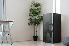 冷蔵庫霜取り不要ツインバードHR-EJ11B2ドア冷凍冷蔵庫110LミラーデザインTWINBIRDおしゃれ