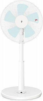 山善扇風機30cmリビング扇マイコンスイッチ風量3段階調節タイマー機能リモコン付きホワイトYLR-AG303(W)