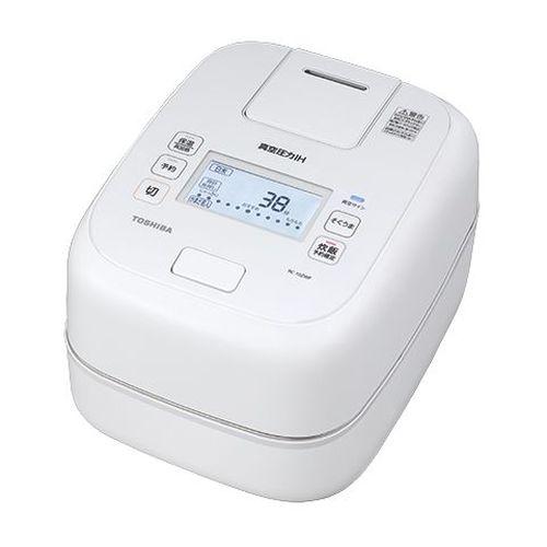真空圧力IH炊飯器 グランホワイト 炊飯容量:5.5合 東芝 RC-10ZWP
