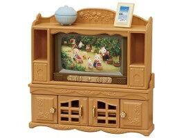 シルバニアファミリー家具テレビ・テレビ台セットカ-522