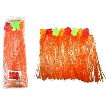 ハワイアンスカート 子供用 オレンジ