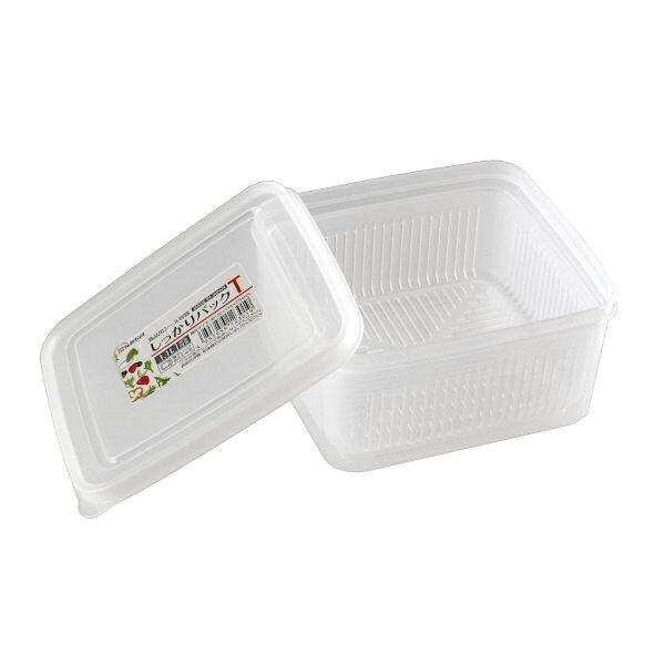 食品用シール容器 しっかりパック ザル付 満量1.1L