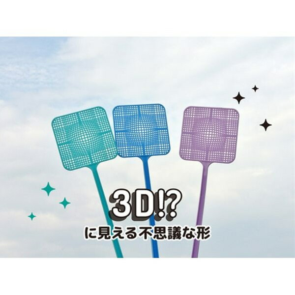 3Dハエタタキ(ピンセット付)[色指定不可]