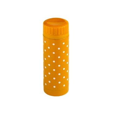 水筒(マグボトル) オレンジ ドット柄 ステンレス製 300ml