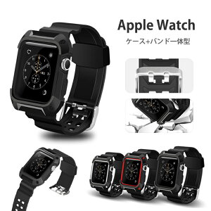 2000b575f0 Apple watch バンド カバー 一体型 series1 series2 series3 アップルウォッチ ケース 42mm ベルト 耐衝撃  ケース アップルウォッチカバー .