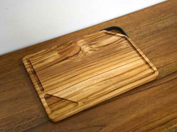 チーク トレー プレート L ハンドル カッティングボード トレイ ランチプレート サービングボード ディナー 肉 アウトドア 木製 無垢材 天然木 ウッド 食器 シンプル ナチュラル インテリア おしゃれ アジアン 北欧