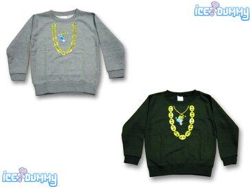 ICE DUMMY NEW ネックレス トレーナー親子ペアルックも可能!しかも韓国子供服並みのロープライス!プチプラ