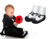 Jazzy Toes【ジャージートー】 フォーマルなお洋服に合わせて♪パーティや結婚式で活躍!ウイングチップ靴下【結婚式 赤ちゃん 靴下 フォーマル ベビー 靴】