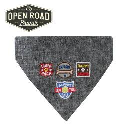 オープンロード(Open Road Brands)犬用バンダナ(Camping)【ペット プレゼント 犬 犬用品 お出かけ キャンプ 犬とキャンプ】