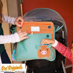 OREオリジナルス ベビーカー用バッグ(ブルー)【ストローラー, 収納, バッグ, 出産祝い, 入園グッズ, キッズ, 男の子, 女の子, 誕生日プレゼント】