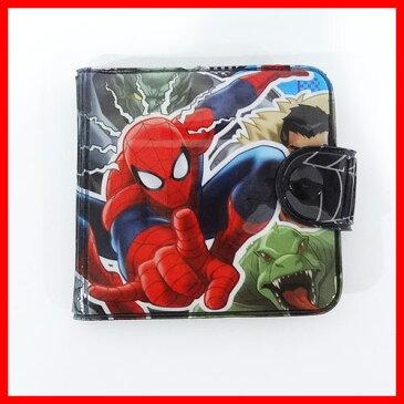 ネコポス可【スパイダーマン グッズ】ビニールウォレット(vsシニスター6) SPM31289 キッズ財布 サイフ ウォレット リュック リュックサック かばん バッグ マーベル キャラクター グッズ