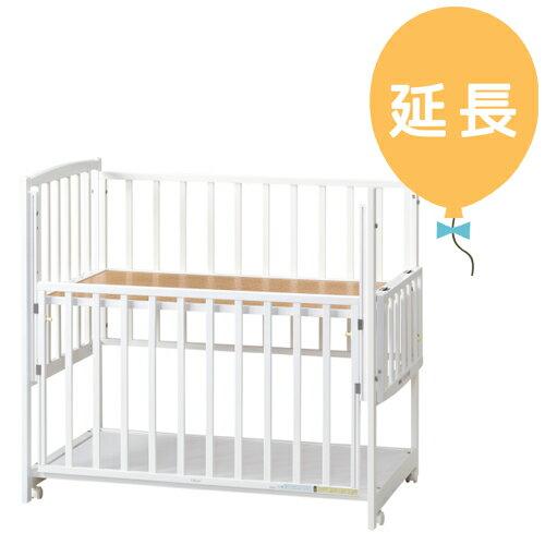 【レンタル延長1カ月】ハイタイプベッド ツーオープンL型 ホワイト b462