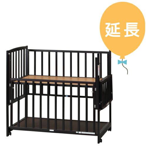 【レンタル延長1カ月】ハイタイプベッド ツーオープンL型 ダークブラウン b172