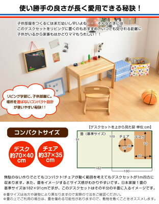 Buonoamiceデスク&チェアセット大和屋