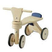【送料無料】ボーネルンドはじめての木製バイクFLOO1プッシュバイクルーマニア製