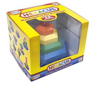 不思議な六角形♪積んだり、はめ込んだり、重ねたり!ポピュラープレイシングス社(アメリカ)ボ...