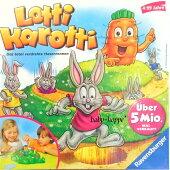 ラベンスバーガー社ロッティカロッティうさぎのすごろくゲームRavensburger社LottiKarotti