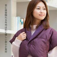 首に直接触れる布地は肌に優しい柔らか素材
