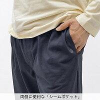 着心地さらっと 吸汗・速乾・爽快感♪日本の高度な紡績技術が生み出した奇跡の快適夏用素材シャレード メンズ 長袖 夏パジャマ【パンツ前開付き】 パジャマ屋 IZUMM(イズム) 日本製【あす楽対応】