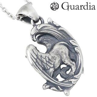 Guardia【ガルディア】Griffiグリフィンシルバーペンダントトップメンズ