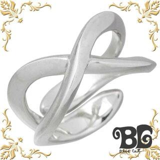 BlueCat【ブルーキャット】シルバーインフィニティーリング指輪15~21号