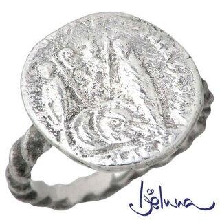 【アイジェルナ】Ijelunaアンティークコインシルバーリング/指輪/7~13号【_包装選択】ラッピング無料