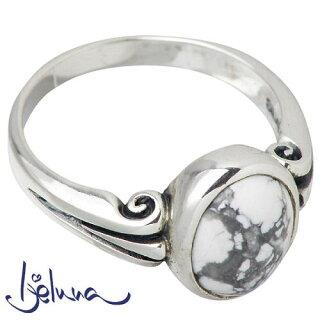 新作!!【Ijeluna/アイジェルナ】ヴァイオラ8x10mmマグネサイトシルバーリング/指輪/7~17号