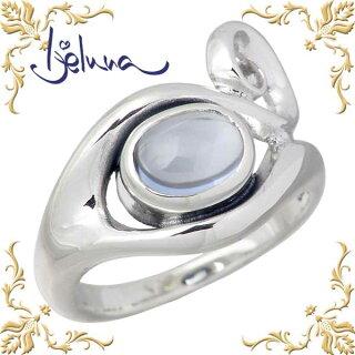 【アイジェルナ】Ijelunaバグーダシルバーリング6X8mm合成アクアマリンリング/指輪/7~17号