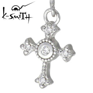 【】[K-SMITH]【ケースミス】(KI-1281153)クロスデザインシルバーピアスロング/キュービック/SV925/Silver/スタッドタイプ/2個売り/両耳用