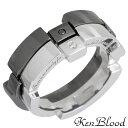 ケンブラッド KEN BLOOD レシプロカル ラブ シルバー ペア リング ダイヤモンド 指輪 アクセサリー 12〜23号 シルバー925 スターリングシルバー KR-232SV-BK-P