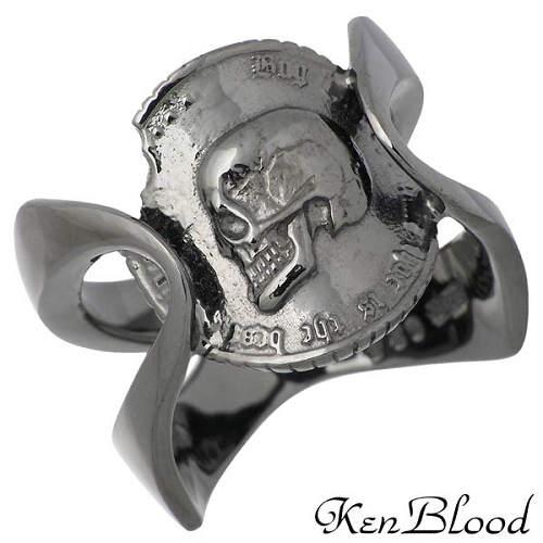 メンズジュエリー・アクセサリー, 指輪・リング  KEN BLOOD B 1521 925 KR-238BK