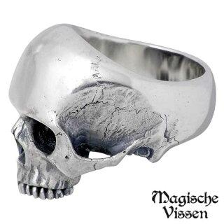 【】【MagischeVissen/マジェスフィッセン】シルバーリング/スカル/指輪/10~25号【_包装選択】ラッピング無料