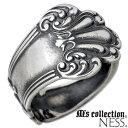 M's collection NESS【エムズコレクション】 シルバー リング 1〜7号 ピンキー 小指 指輪 シルバーアクセサリー シルバー925 N0099