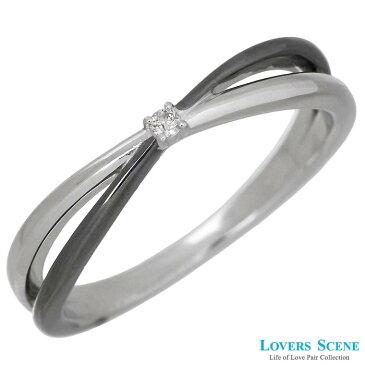 LOVERS SCENE【ラバーズシーン】 シルバー リング 指輪 アクセサリー ダイヤモンド メンズ 11〜21号 LSR-0126DBKRM