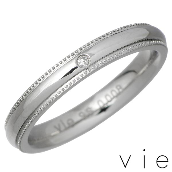 vie【ヴィー】 ダイヤモンド ステンレス リング 金属アレルギー対応 ステンレス アクセ 指輪 7〜15号 アレルギーフリー vie-R1186