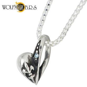狼人 B.R.S 輝光心臟病的魅力 BL 純銀項鍊銀 925 銀首飾與石銀斧子 / 10P11Apr15