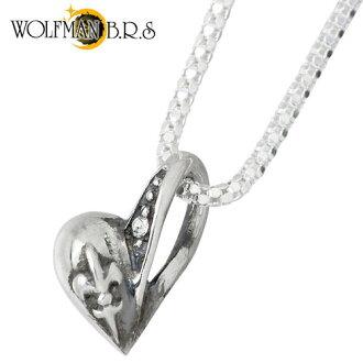 狼人 B.R.S 輝光心魅力 WH 純銀項鍊銀 925 銀首飾與石銀斧子