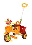 【送料無料】三輪車 わくわくアンパンマンごうピース2 オレンジ