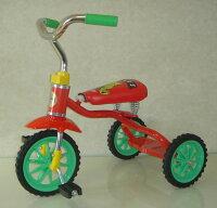 ベアーズ豆ダッシュ三輪車レッドの画像