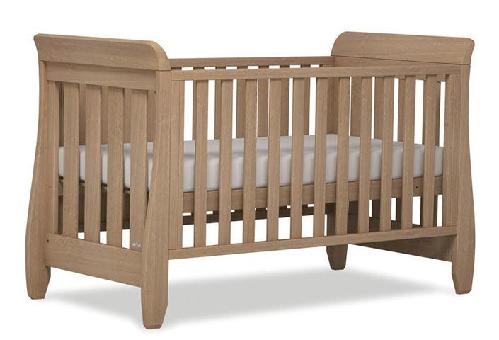 【BOORI ブーリ】木製ベビーベッド 「6歳までベッド」 Sleight スレイ UJ-SLCBD (アーモンド) :BABY FUKUOKA PROSHOP