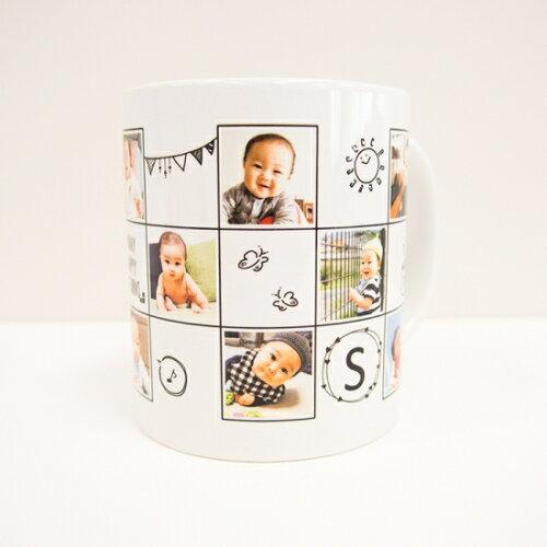 写真名入れ記念品卒園写真入りオリジナルマグカップ幼稚園保育園卒業記念品プレゼント名前入りギフト内祝い誕生日記念日祝いサプライズ