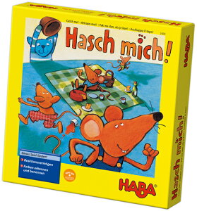 【即納】ドイツのおもちゃ★HABA(ハバ社)ネコ対ネズミのサイコロゲームゲーム【キャッチミー】【楽ギフ_包装】【楽ギフ_メッセ入力】【あす楽対応】【お誕生日】4歳:女【お誕生日】4歳:男【お誕生日】5歳:女【お誕生日】5歳:男