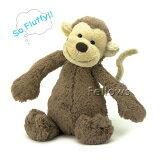 Jellycat ジェリーキャットおさるのぬいぐるみ Bashful Monkey Mサイズ:31cm