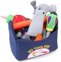 【当店ポイント10倍!】布のおもちゃ マイ・ツールボックスはじめてのおもちゃにピッタリ!【出産祝い】男の子【お誕生日】1歳:男【お誕生日】2歳:男