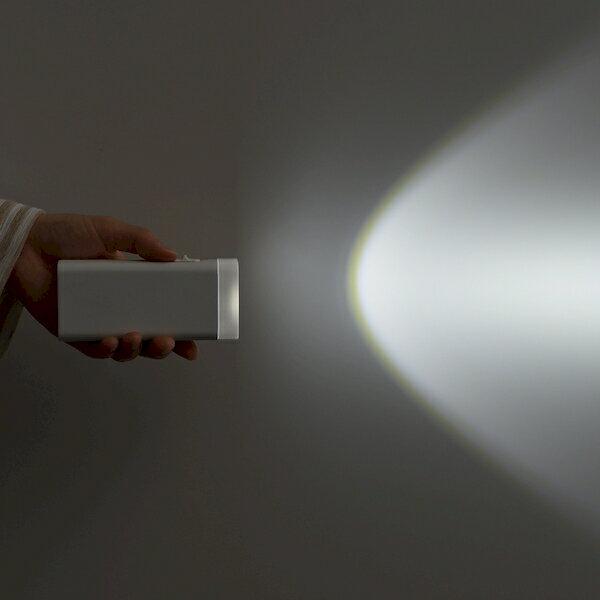 ツインバード『停電センサーLEDサーチライト(LS-8557W)』