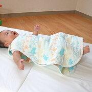 6重ガーゼスリーパーサーカス柄ベビースリーパーオールシーズン出産準備日本製ベイビーハーツ